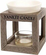 Yankee Candle Duftlampe, Keramik, Grau,