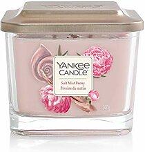 Yankee Candle Elevation Duftkerze, Glas, rosa, 9cm