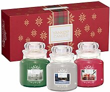 Yankee Candle Gift Duftkerzen, Glas, Mehrfarbig,