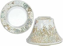 Yankee Candle Gold/Pearl Crackle Lampenschirm &