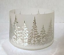 Yankee Candle Kerzenschirm im Glas, Design Winter