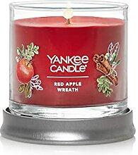 Yankee Candle Kleine Duftkerze im Glas mit rotem