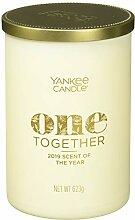 Yankee Candle ONE Together Kerze im Glas, weiß,