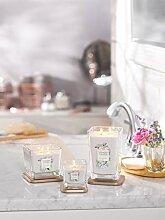 Yankee Candle Passionflower Kerze im Glas, weiß,