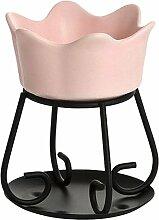 Yankee Candle Petal Bowl Duftlampe, Keramik, pink,