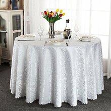 YANLIU Europäische Tischdecke Tischdecke, Tisch runde Tischdecke , 4 , 180*180cm