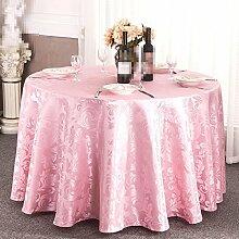 YANLIU Hotel Tischdecke, europäisches Restaurant Tischdecke, Couchtisch runde Tischdecke Tuch Tischdecke , 5 , 180*180cm