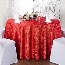 YANLIU Hotel Tischtücher, Tuch europäischen Stil Tischdecken, Hause Couchtisch runde Tischtücher Tischdecken , 5 , diameter 240cm