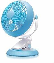 YANMMll USB-Ventilator-Clip-Fan Tragbare Stumm