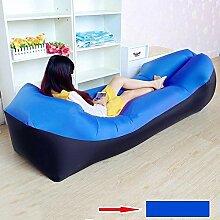 Yanyangqing Pillow Lazy aufblasbares Sofa mit