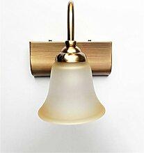 YANZHEN-Badezimmer Wandleuchte LED-Spiegel Vorne Lichter European Simple Spiegel Schrank Lichter Badezimmer WC Dressing Tisch Spiegelleuchten Schlafzimmer Wandleuchte -Wand Spiegel Licht ( größe : A-1 Light )