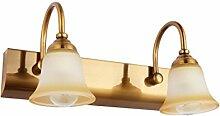 YANZHEN-Badezimmer Wandleuchte LED-Spiegel Vorne Lichter European Simple Spiegel Schrank Lichter Badezimmer WC Dressing Tisch Spiegelleuchten Schlafzimmer Wandleuchte -Wand Spiegel Licht ( größe : A-2 Lights )