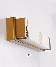 YANZHEN-Badezimmer Wandleuchte LED-Spiegel Vorne Lichter Spiegel Schrank Lichter Badezimmer Toilette Schrank Spiegelleuchten Schlafzimmer Einfache Energie Wandleuchte -Wand Spiegel Licht ( Farbe : A-Warm White Light-63CM-24W )