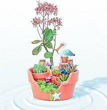 YANZHEN Garten-Strand kreative Blumentöpfe Mikro-Landschaft Pflanze Töpfe Topfpflanze Heimtextilien