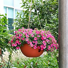 YANZHEN Innen-Plastik-Blumentöpfe Lazy Wasserspeicher Dipper-Becken Hängende Blumentöpfe Heimtextilien ( Farbe : A , größe : 6 Stück )