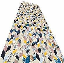 YANZHEN Läufer Flur Teppich rutschfest Schneidbar