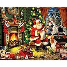 YANZUAN 5D Diy Kreuzstich Weihnachtsmann Einen