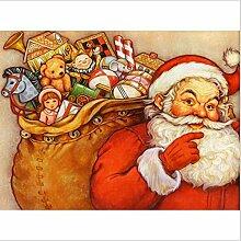 YANZUAN DIY 5D Diamantmalerei Der Weihnachtsmann