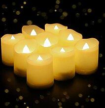 YAOBLUESEA 27er LED Kerzen Teelicht Kerze