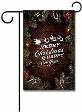Yard Banner,Frohe Weihnachten Aus Holz Von Xmas