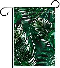 Yard Decor Outdoor-Schild Gartenflaggen hängende