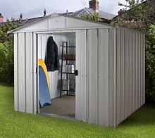 Yardmaster Gartenhaus Sachsen 65+ mit Einlegebodenrahmen