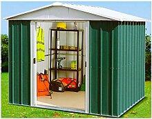 Yardmaster Metall-Gerätehaus Bayern 65 Geräteschuppen Gartenhaus ca. 2,33 m²