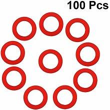 Yardwe 100 STÜCKE Gartenschlauch Unterlegscheiben