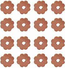 Yardwe 20 Stück Zedern-Kleiderbügel-Ringe aus