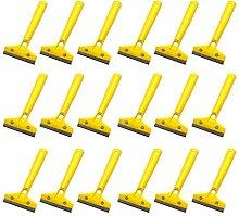 Yardwe 30 Stück Kunststoff-Rasierklingenschaber