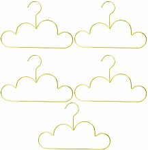 Yardwe Kleiderbügel 5 stücke Wolke Form