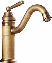 Yardwe Messing Einhand Mischbatterie Wasserhahn