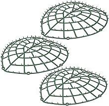 Yardwe Netz Pflanze Wand Rahmen Herzförmige