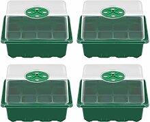 Yardwe Trays Sämling Starter Tablett 1 Set
