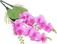 YARNOW 2Pcs Künstliche Phalaenopsis Künstliche
