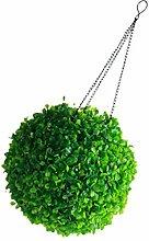 YARNOW Hängen Künstliche Pflanze Topiary Ball
