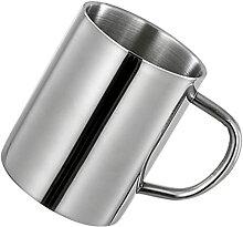 YARNOW Metall Kaffee Becher Tee Tasse Becher