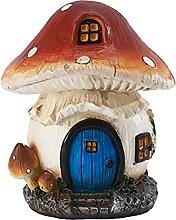 YARNOW Miniatur Fee Garten Pilz Figuren Elf Zimmer
