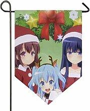 YATELI Designer Anime Weihnachtsmädchen Tapete