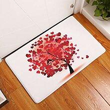 YATING Farbe Baummatte Fußmatte Digitaldruck