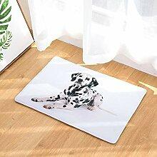 YATING Hundedruck Bodenmatte Türmatte