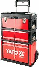 YATO Profi Werkzeugtrolley mit 3 Modulen YT-09102