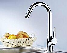 YAWEDA Alle Kupfer Küche Waschbecken mit warmen