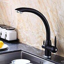YAWEDA Alle Kupfer Sauberes Wasser Küchenarmatur