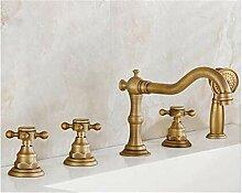 YAWEDA Antique Brass 5Pcs