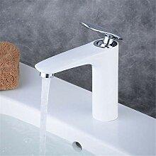 YAWEDA Komplette Kupfer Waschbecken Wasserhahn