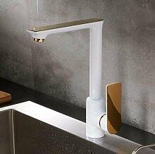 YAWEDA Luxus Elegante weiß und Gold Küche