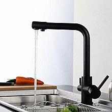 YAWEDA Orb Wasserfilter 3-Wege-Küchenarmatur Pure