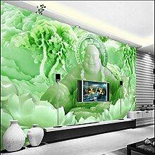 YAXIAA Fototapete 3D Tapete Sanfte Buddha Riesige