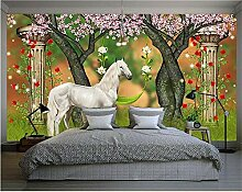 YAXIAA Fototapete 3D Wallpaper Tapete Weißes